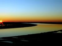 coucher de soleil la palmyre