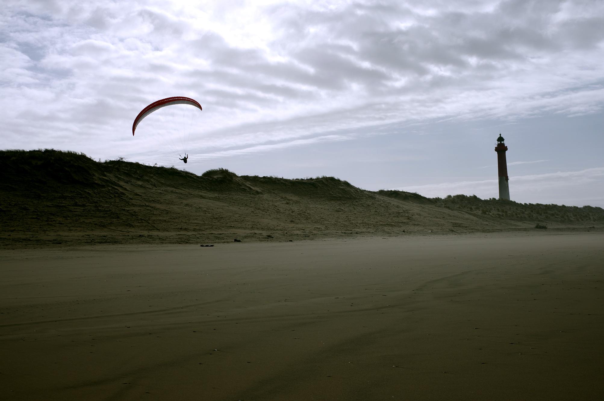 parapente des dunes